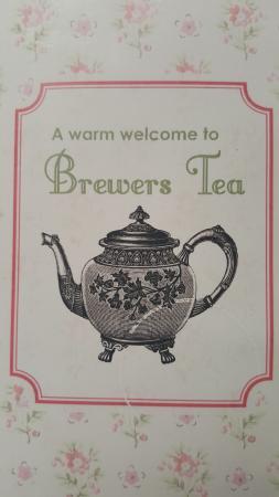 Weymouth, UK: Brewers Tea