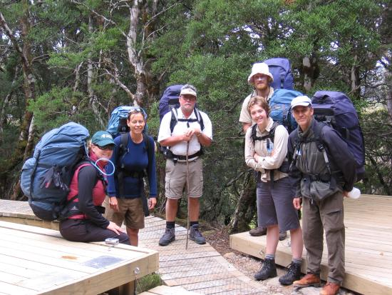 Tasmanian Wilderness Experiences - Base Camp Tasmania: TWE Tour Group on Overland Track