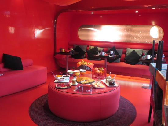 The Five Hotel: Bulle de bonheur petit déjeuner