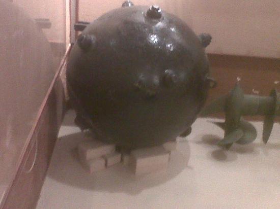 Musée de la Guerre (Musée de la Seconde Guerre mondiale) : mine de mer