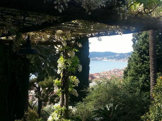 Villa della Pergola: Il giardino