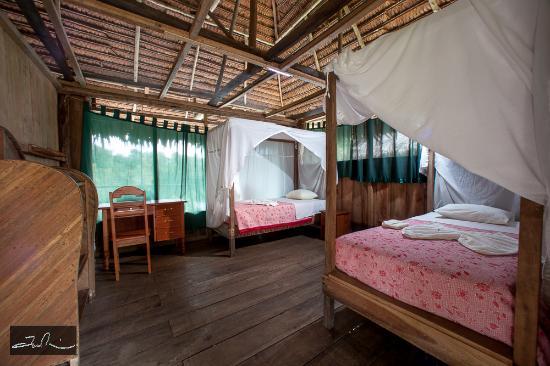 Amazonia Expeditions' Tahuayo Lodge: Double bedroom