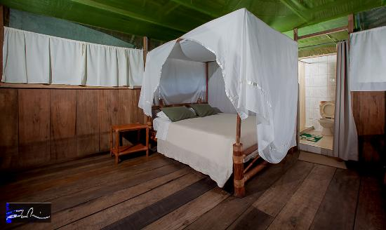 Amazonia Expeditions' Tahuayo Lodge: Single bedroom