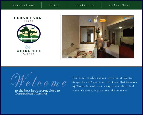 Cedar Park Inn And Suites: Watch TV from Jacuzzi or Bed