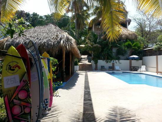 Tunco Lodge: Piscina linda