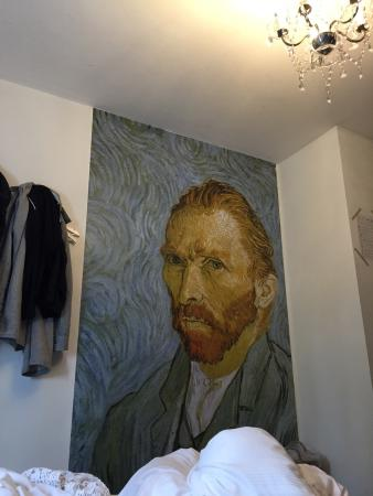 Cocomama: Van Gogh private room, top floor.