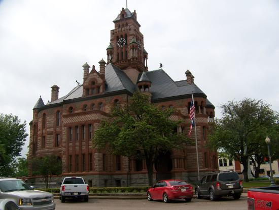 Courthouse, Meridian, Texas