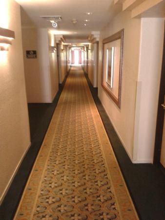 Fortune Hotel & Suites: hallway