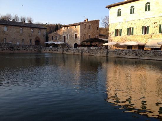 Reception Picture Of Albergo Le Terme Bagno Vignoni
