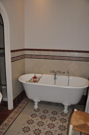 Le Pavillon St Martin : la baignoire