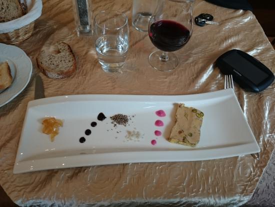 mon foie gras à la Table des Chevaliers à Haguenau