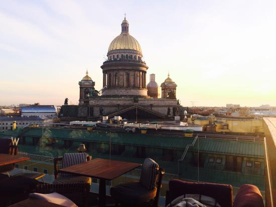 W Hotel St Petersburg Rooftop Bar