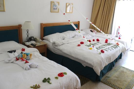 Hilton Sharm El Sheikh Fayrouz Resort : Lovely work for my daughter BD