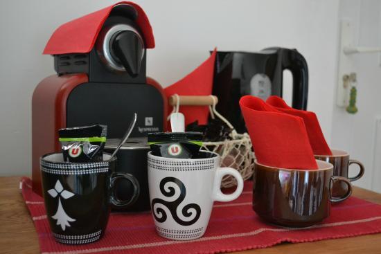 Gite du Fozo : café à disposition