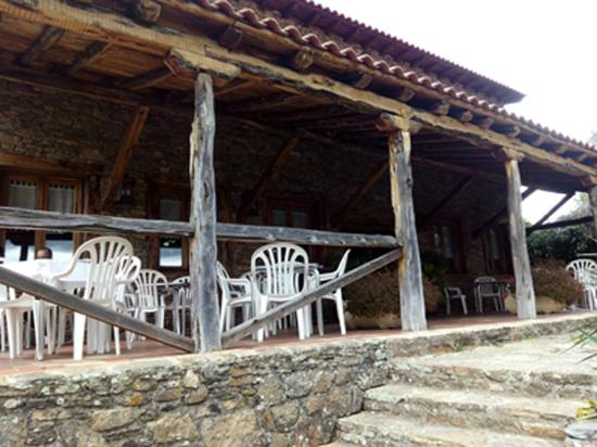 La Hontanilla: Terraza exterior
