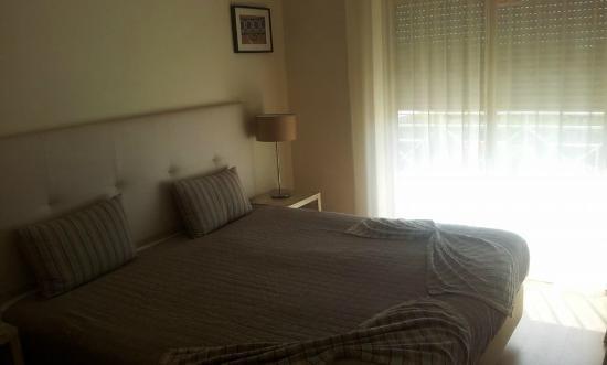 Pinheiros da Balaia Villas: The bedroom.