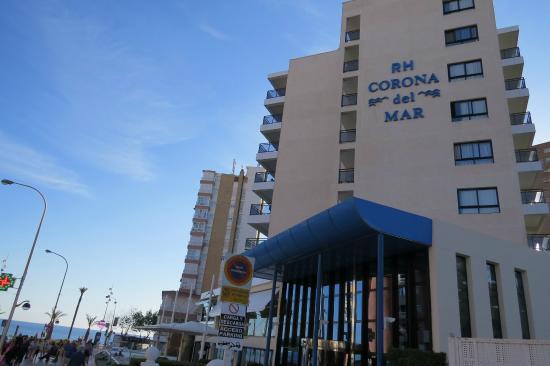 Hotel RH Corona del Mar: La playa a un paso.