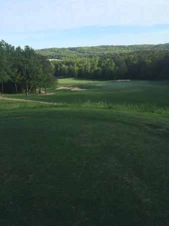 Oxmoor Valley Golf Course: Scenic first tee box