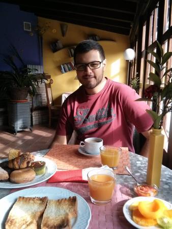 La Casa del Canonigo: Fantástico desayuno