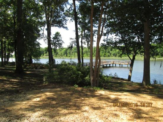 Three Rivers State Park: Dock