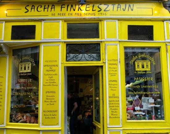 façade - Picture of Sacha Finkelsztajn - La Boutique Jaune, Paris ...