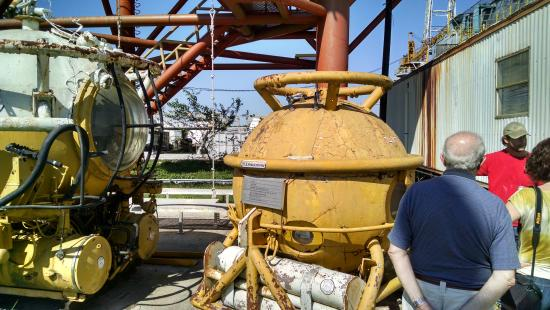 International Petroleum Museum and Exposition: subsea divers' capsules