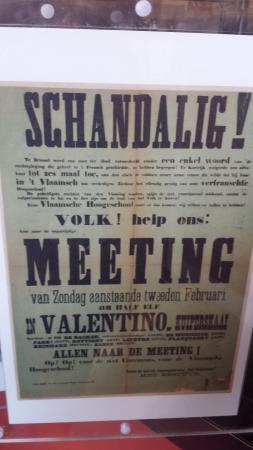 STAM Ghent City Museum: Mooie aanplakbiljetten met oproepen uit de middeleeuwen