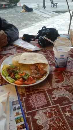 Maccan Cafe Restaurant: Chicken and Ayran