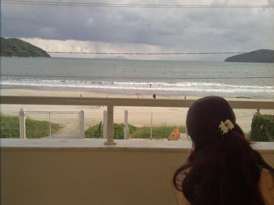 Areia Do Mar: Vista da sacada do quarto