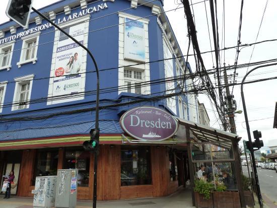 Das Cafe Dresden, benannt nach dem Kleinen Kreuzer Dresden (1. WK)