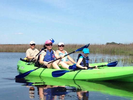 J L Kayaks Llc Kayak Tours And Als Remote Backwaters In North Myrtle
