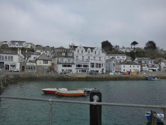 St Mawes, UK: view from the ferry