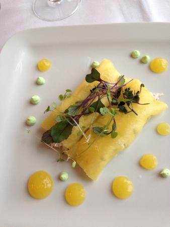 Carrig Country House & Restaurant: Crab starter