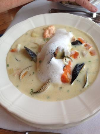 Carrig Country House & Restaurant: Chowder