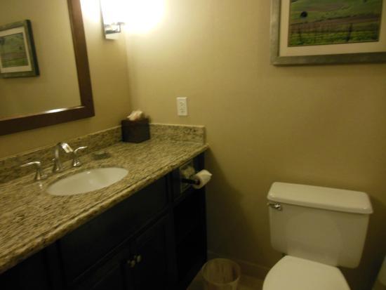 Santa Ynez Valley Marriott: baño