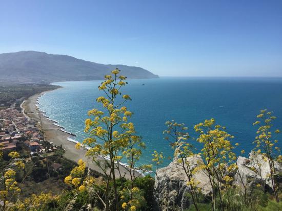 Mongiove, Italië: da Monte Giove verso Ovest
