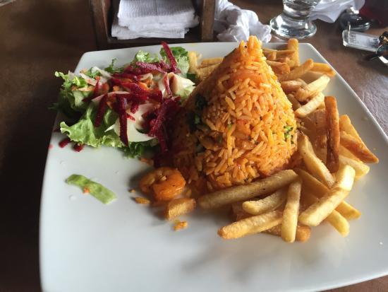 Restaurante especialidad en carnes: Shrimp and Rice