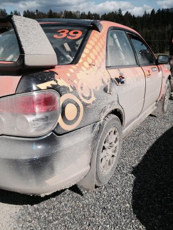 DirtFish Rally School: Car after a day on the track