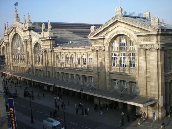View Of New Hotel Gare Du Nord