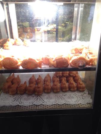 Chinatown Bakery: Sweet fish with cream inside