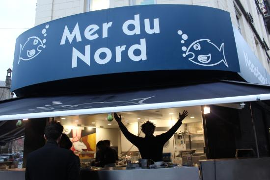 Restaurant La Mer Du Nord Bruxelles Place Sainte Catherine