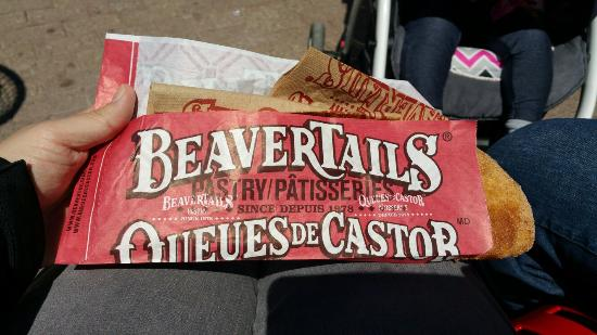 "BeaverTails Niagara Falls: SO yummy! Wish I would have taken some ""to go"""