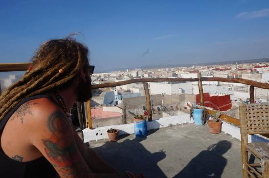 Atlantic Hostel: in terrass of Atlantic