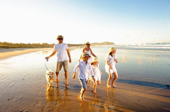 Ballina, Australie : Beautiful stretches of beaches