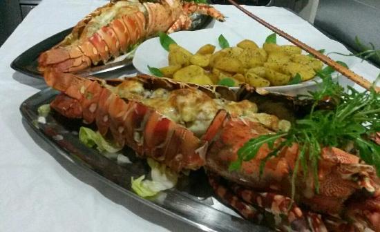 Blue Marlin Beach Restaurant: Lobster thermidor