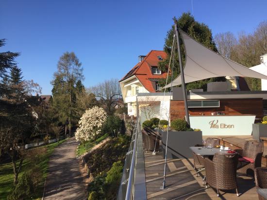 Villa Elben: .....Frühlings-Tag auf der Dach-Terrasse!