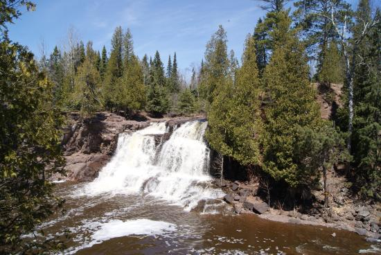 Minnesota's North Shore Scenic Drive: Gooseberry falls