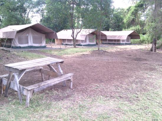 Oasis Eco Camp: Tents by the lake