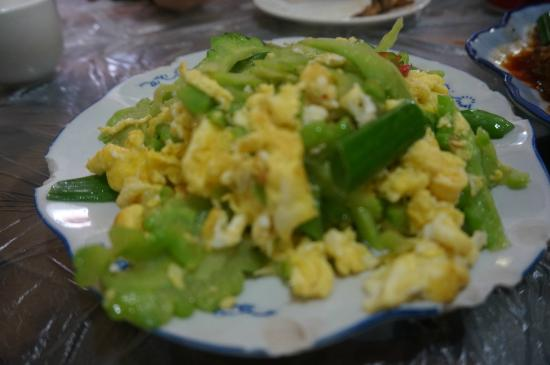 Good Panda: Eggs fried with bitter gourd