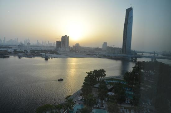 InterContinental Dubai Festival City: View from our room.